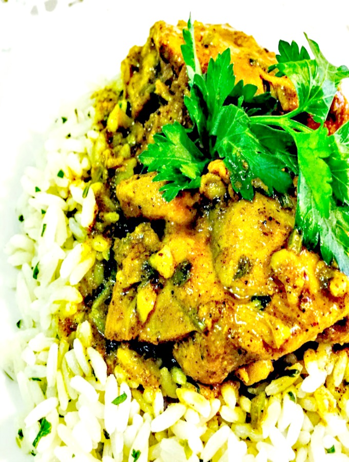 The Most Amazing Curry Chicken